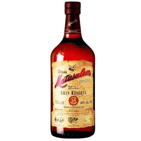 Rum 15 years 1L, Matusalem
