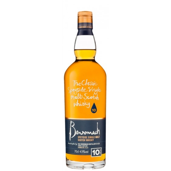 Whisky 10 years 0.7L, Benromach