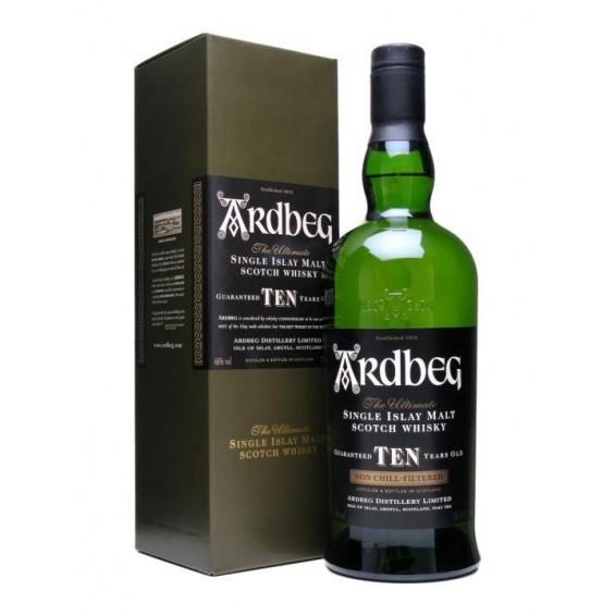 Whisky 10 Y.O. 0.7L, Ardbeg