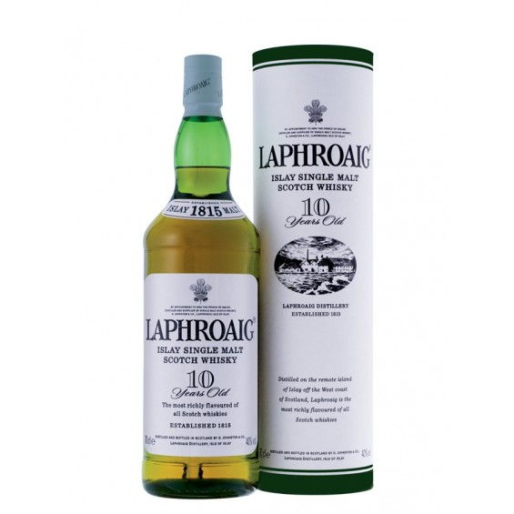 Whisky 10 Years Old 0.7L, Laphroaig