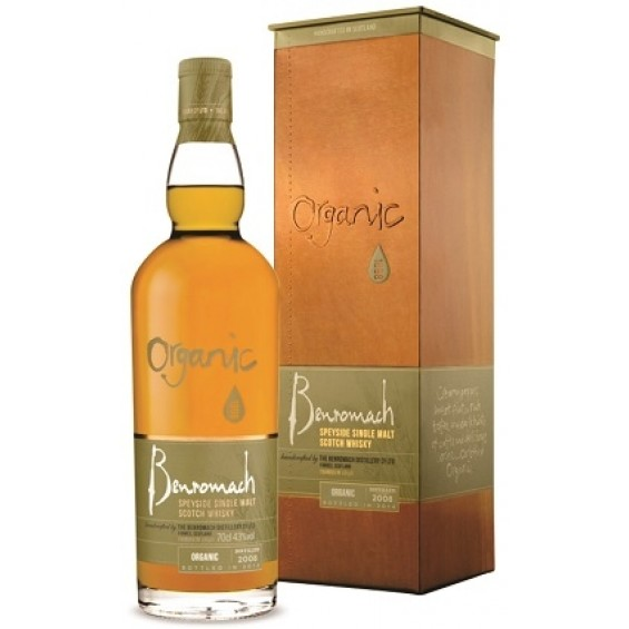 Whisky Organic 0.7L, Benromach
