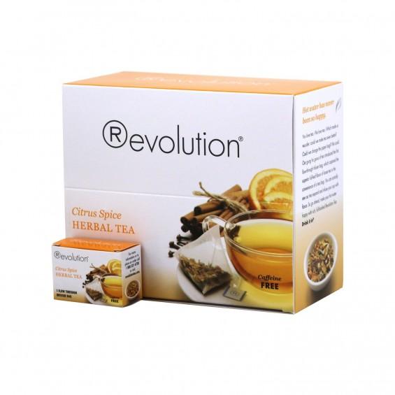 Citrus spice herbal / 30 čajnih vrečk, Revolution