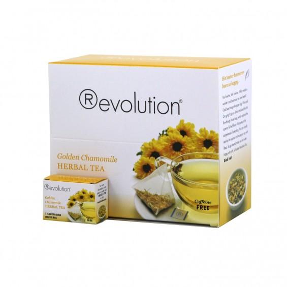 Golden Chamomile Herbal - kamilica / 30 čajnih vrečk, Revolution