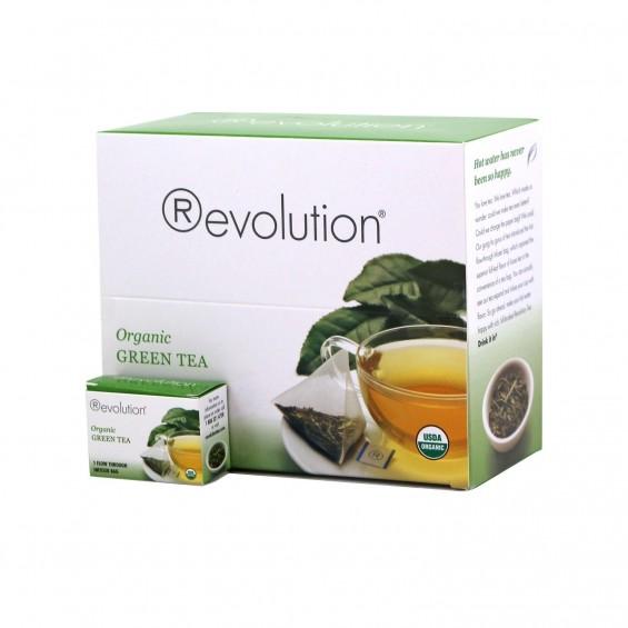 Organic Green / 30 čajnih vrečk, Revolution