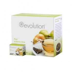 White Pear - hruška / 30 čajnih vrečk, Revolution