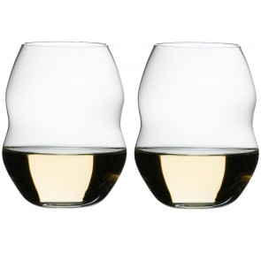 White wine ~ set 2 kozarcev, Swirl